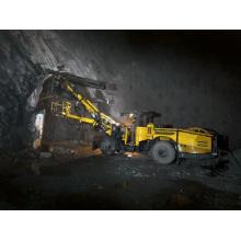 Perforadora Jumbo Hidráulica Completa de Doble Brazo para Túnel Frontal