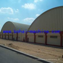 Bohai 1000-610 Stahlbogenblech Projektmaschine an der Wand