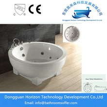 Best Quality for Special Design Popular Bathtub Round massage bath jacuzzi round bath export to Germany Exporter
