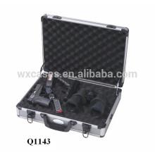 pistolet en aluminium de haute qualité étui avec mousse à l'intérieur du fabricant vente chaude