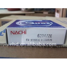 NACHI deep groove ball bearing 6204ZZE