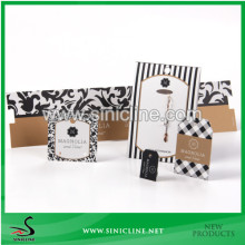 Sinicline custom made Jewelry display cards with free artwork
