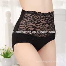 The Most Seductive Sexy China Ladies Undergarment Lingerie Embroidery Lady High Waist Panty Plus Size Panty For Fat Women