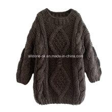 Benutzerdefinierte Hand stricken Strickjacke Pullover, handgemachte Bekleidung