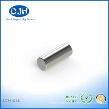 Diámetro 3 * Espesor 8 mm Neodimio sinterizado Imanes de boro de hierro