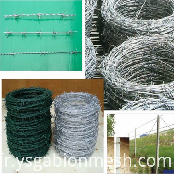 barbed wire for fence