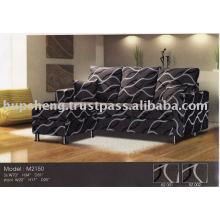 Canapé en forme de L en tissu