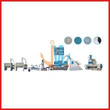 Granulador reciclado de alta velocidad de caucho, PVS / TPR / EVA de dos ejes (refrigeración por agua)