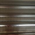 Горячеоцинкованная металлическая сетка с высоким рифлением