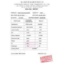 Sodium bicarbonate, Mild disinfectant