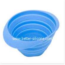 Küchen-Elastomer-faltbares Silikon-Gummisieb