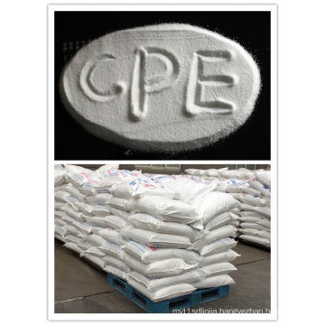Modifier CPE135A,a dual property of plastics and rubber