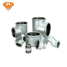 accesorios de tubería de hierro galvanizado eléctrico
