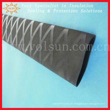 tubo antideslizante negro termocontraíble para paleta de barco de dragón