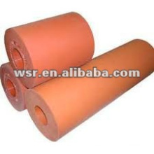 Rodillo de goma industrial / rodillo de goma SBR / rodillo de EPDM