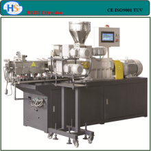 Co-rotation compounding twin screw extruder for lab