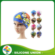 Man woman children silicone swimming caps