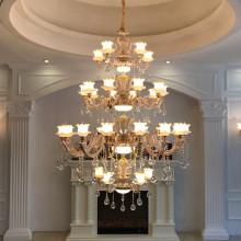 L'hôtel décorer décorer lampe de cristal
