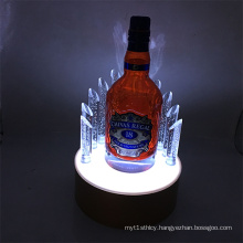 Wine Retail Store LED Lighting Counter Top Display Stand