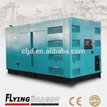 Suministro 650kw silencioso generador diesel alimentado por Cummins motor KTA38-G2 generador de energía a prueba de ruido diesel precios