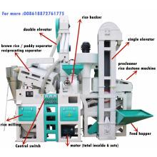 24T por día precio de planta de molino de arroz de máquina de molino de arroz