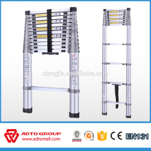 Hot sale EN131 quick folding ladder,telescopic aluminium ladder,aluminium portable ladder