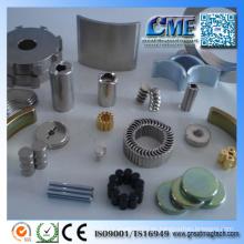 Potente industrial sinterizado tierra Aimant NdFeB disco de neodimio / anillo / bloque / redonda / arco / cuña / rectángulo / barra / cilindro imán