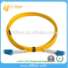 Singlemode Zipcord 2ft LC/LC Fiber Optic Jumper