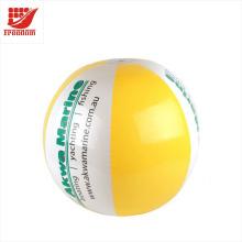 Balle de plage gonflable promotionnelle de vente chaude de PVC