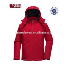 Chine usine de haute qualité oem design personnalisé softshell veste
