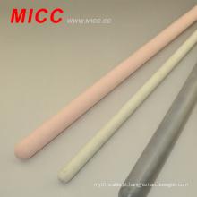 Hastes cerâmicas da alumina da cor branca de MICC da cor 6.0 * 100mm 99%