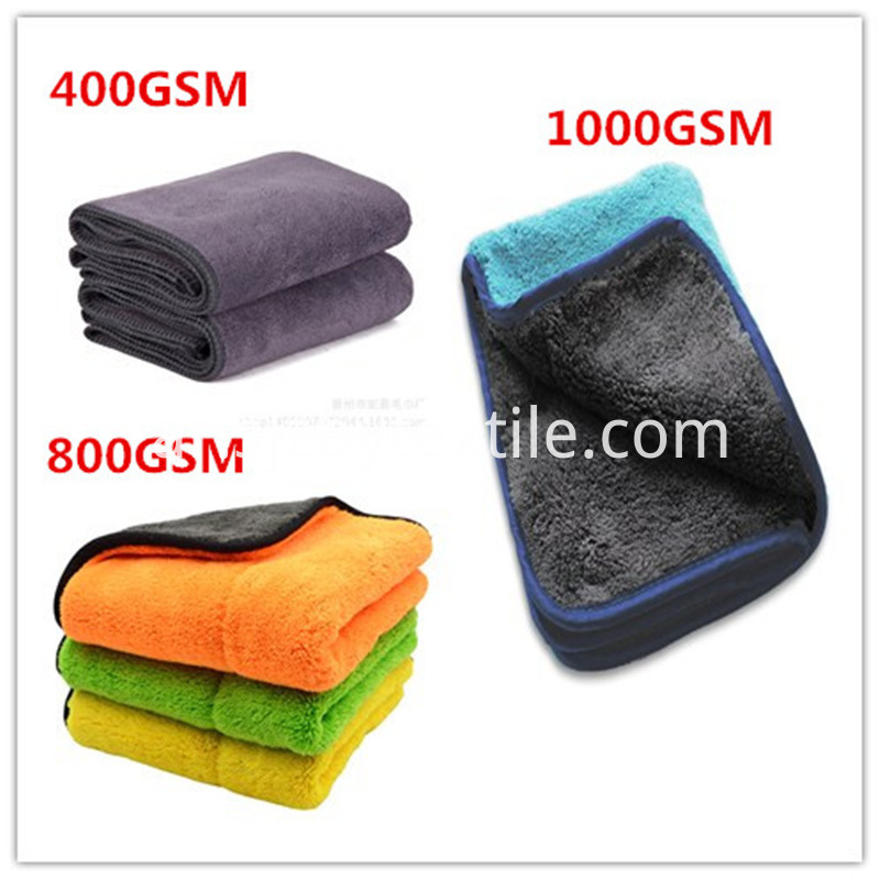 High Quality Auto Care Microfiber Towel