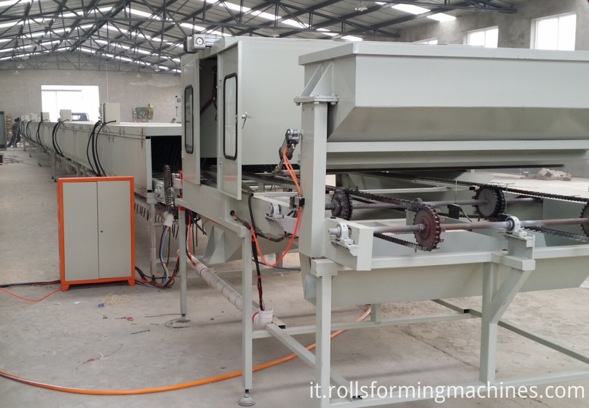 stone coated roofing tile machine
