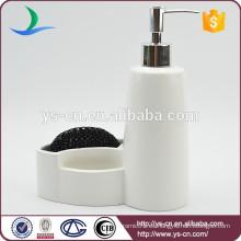 Botellas blancas de cerámica de la loción de la novedad al por mayor