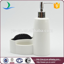 Atacado novidade cerâmica branca Lotion garrafas