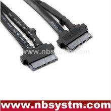 DVD COMBO DVDRW cable de alimentación 6pin + 7pin, unidad de CD SATA power + data cable