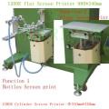 Fabricante de la máquina de impresión de la pantalla de botella neumática