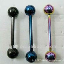 Bijoux Piercing Corps en acier inoxydable chirurgical en acier inoxydable