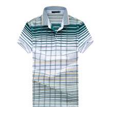 Latest Design Polo Shirt Striped Polo Bulk Polo Shirts