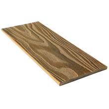 Cerca hermosa moderna con el panel de pared compuesto de WPC