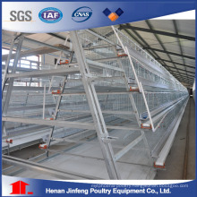 4 Tiers Hot Galvanized Automatic Layer Poultry Battery Cages
