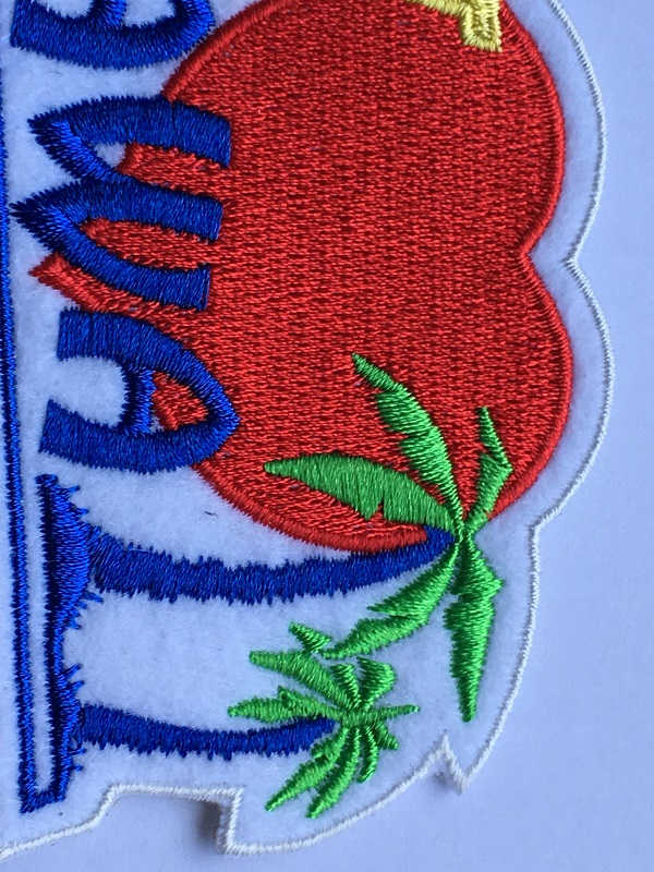 Words Embroidery Patch