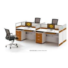 Computer 4-Sitzer Standardgrößen von Arbeitsplatzmöbeln (FOH-SS18-2812-A)