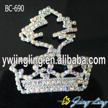 AB Crystal Brooch Pins