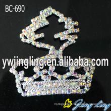 AB Crystal Brooch Pins