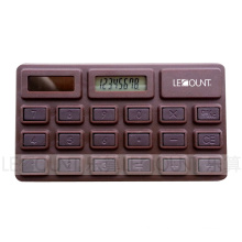 Promotion Gift 8 Digits Chocolate Shape Calculator with Special Package (LC595)