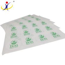 Papel pintado de diseño en relieve de calidad superior promocional de la etiqueta engomada