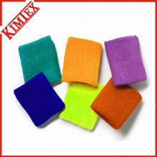 Solid Color Sports Gift Terry Wristband (kimtex-369)
