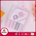 100% polyester bamboo baby washcloths,Made in China baby hooded towel and super soft terry