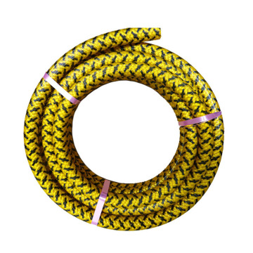 Polyester yarn braided pvc flexible spray hose pipe